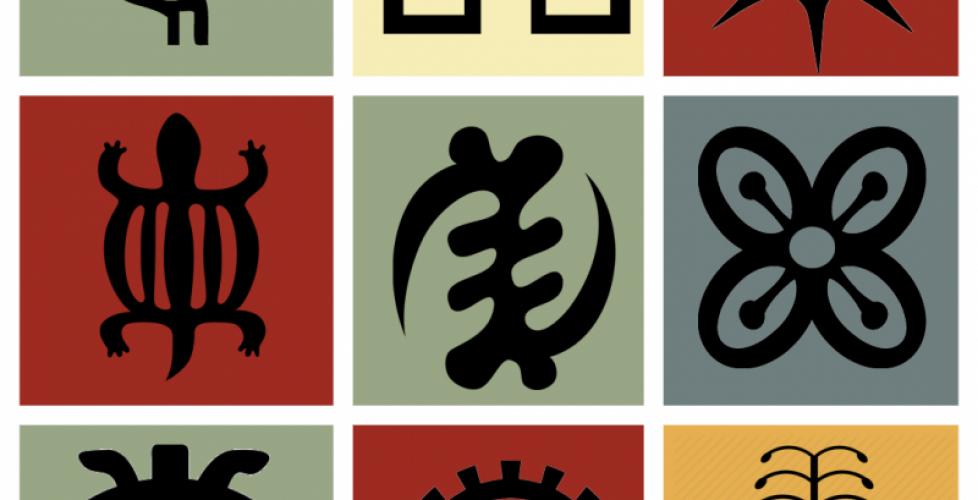 Adinkra-Symbols